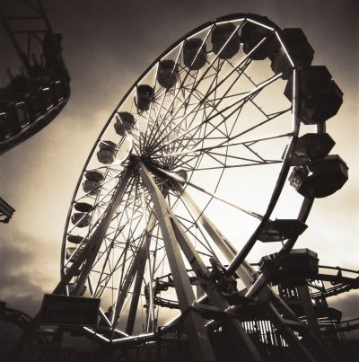 Debra DiPaolo Photography, Ferris Wheel